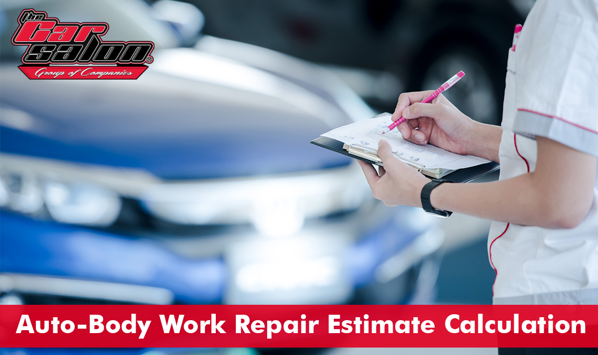Auto-Body Work Repair Estimate Calculation