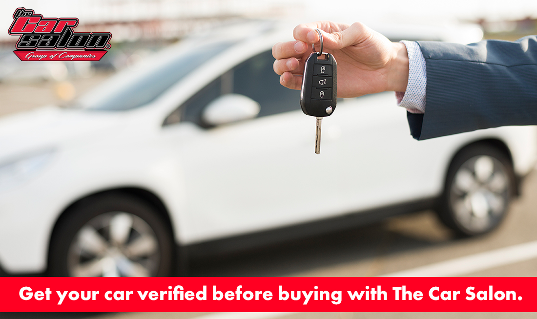 Get your car verified before buying with The Car Salon