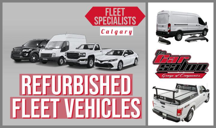 Refurbished Fleet Vehicles Calgary