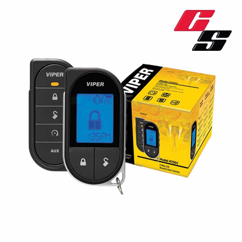 Viper LCD 2-Way Remote Car Starter