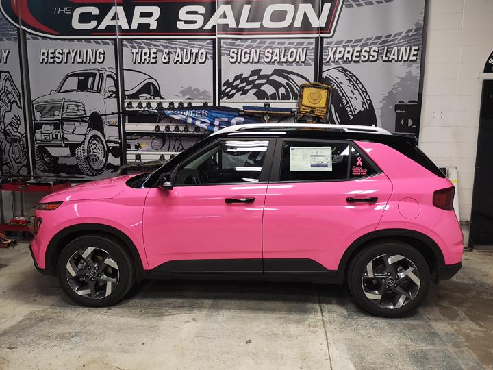 Hyundai Venue M 2080 G103 Pink Wrap