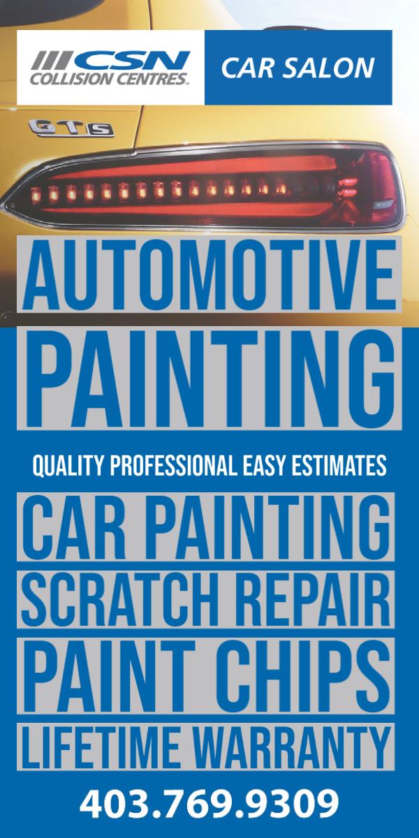 Automotive Painting Service Calgary