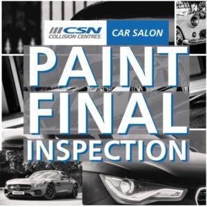 Final Car Paint Inspection Calgary