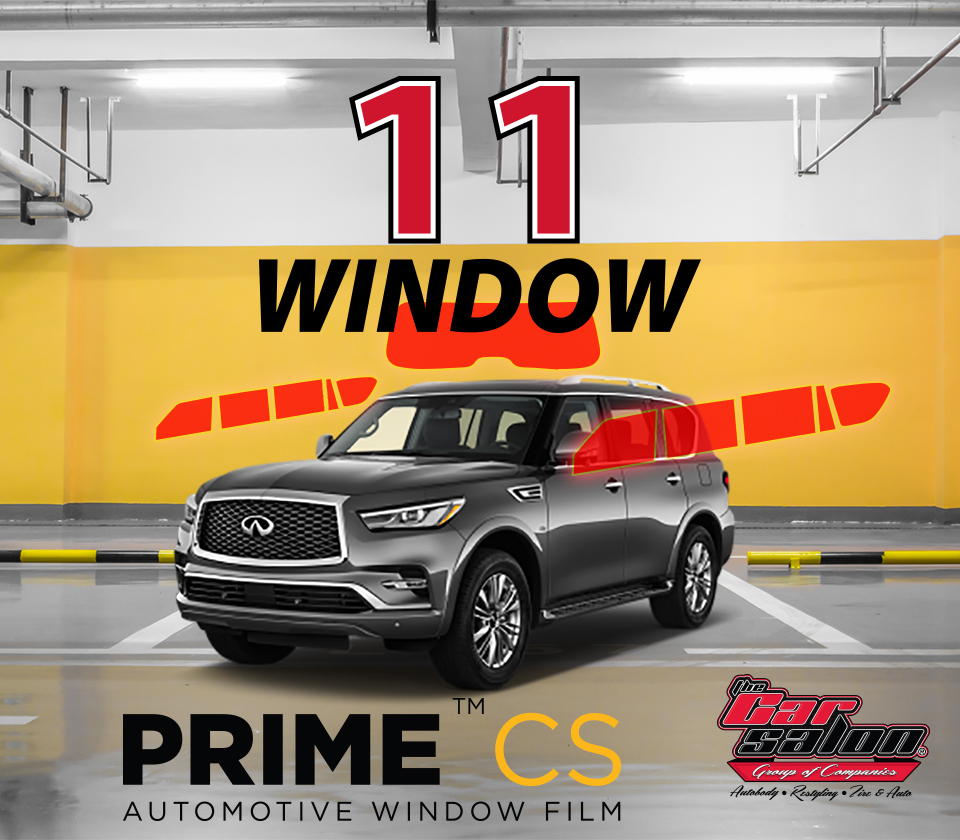 XPEL PRIME CS 11 Window Tint Calgary