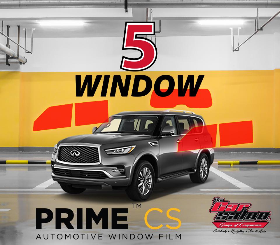 XPEL PRIME CS 5 Window Tint Calgary