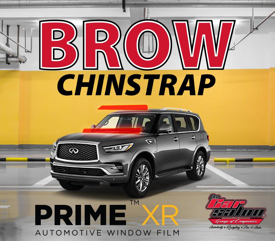XPEL PRIME XR Brow Window Tint Calgary
