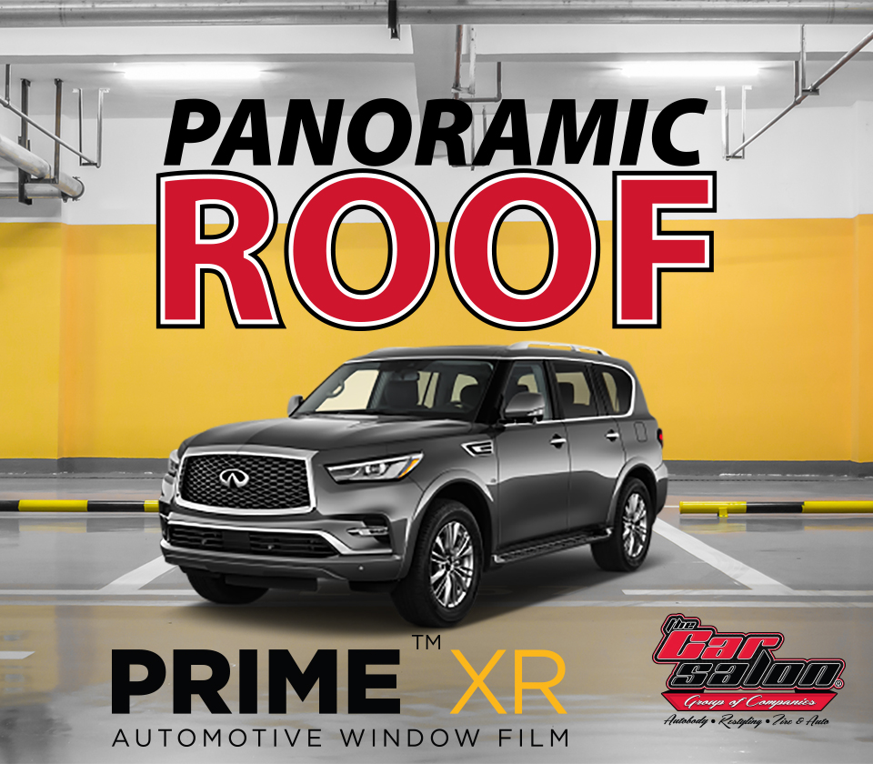 XPEL PRIME XR Panoramic Roof Window Tint Calgary