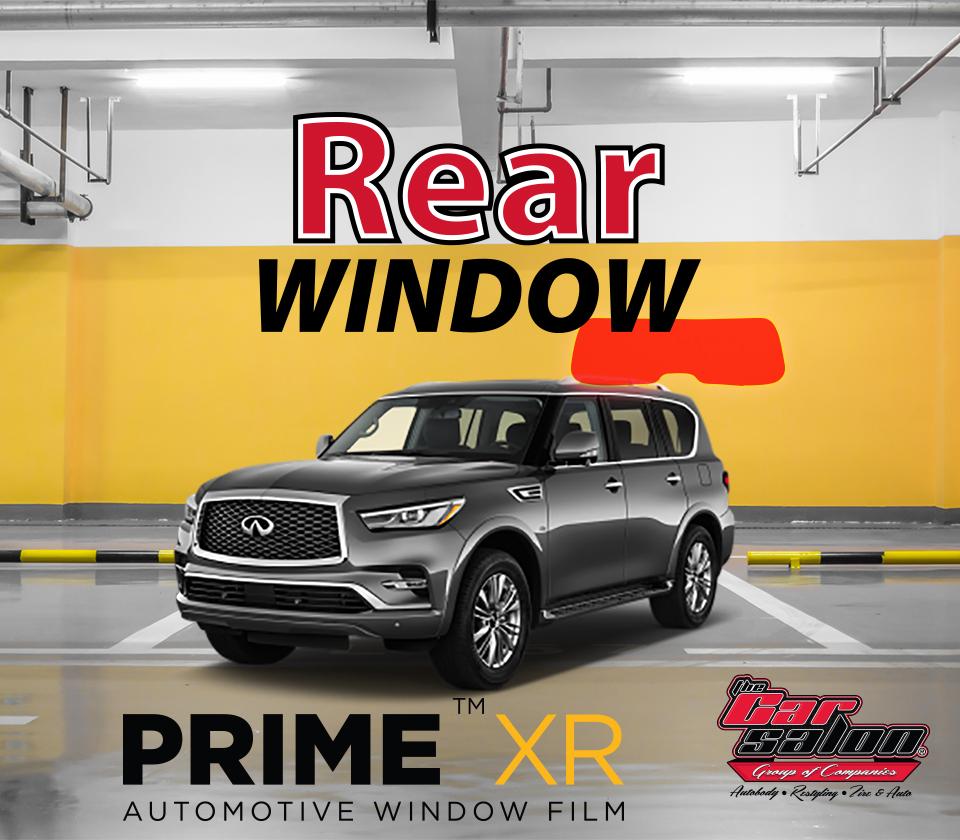 XPEL PRIME XR Rear Window Tint Calgary