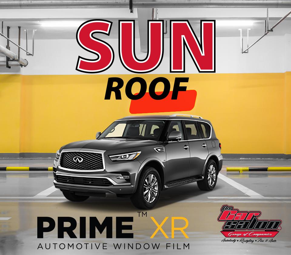 XPEL PRIME XR Sun Roof Window Tint Calgary
