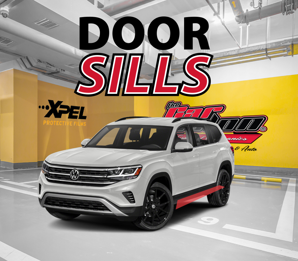 Xpel Paint Protection Film Calgary Door Sill
