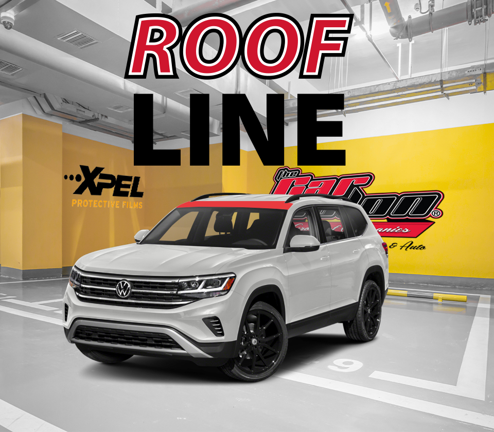 Xpel Paint Protection Film Calgary Roof Line