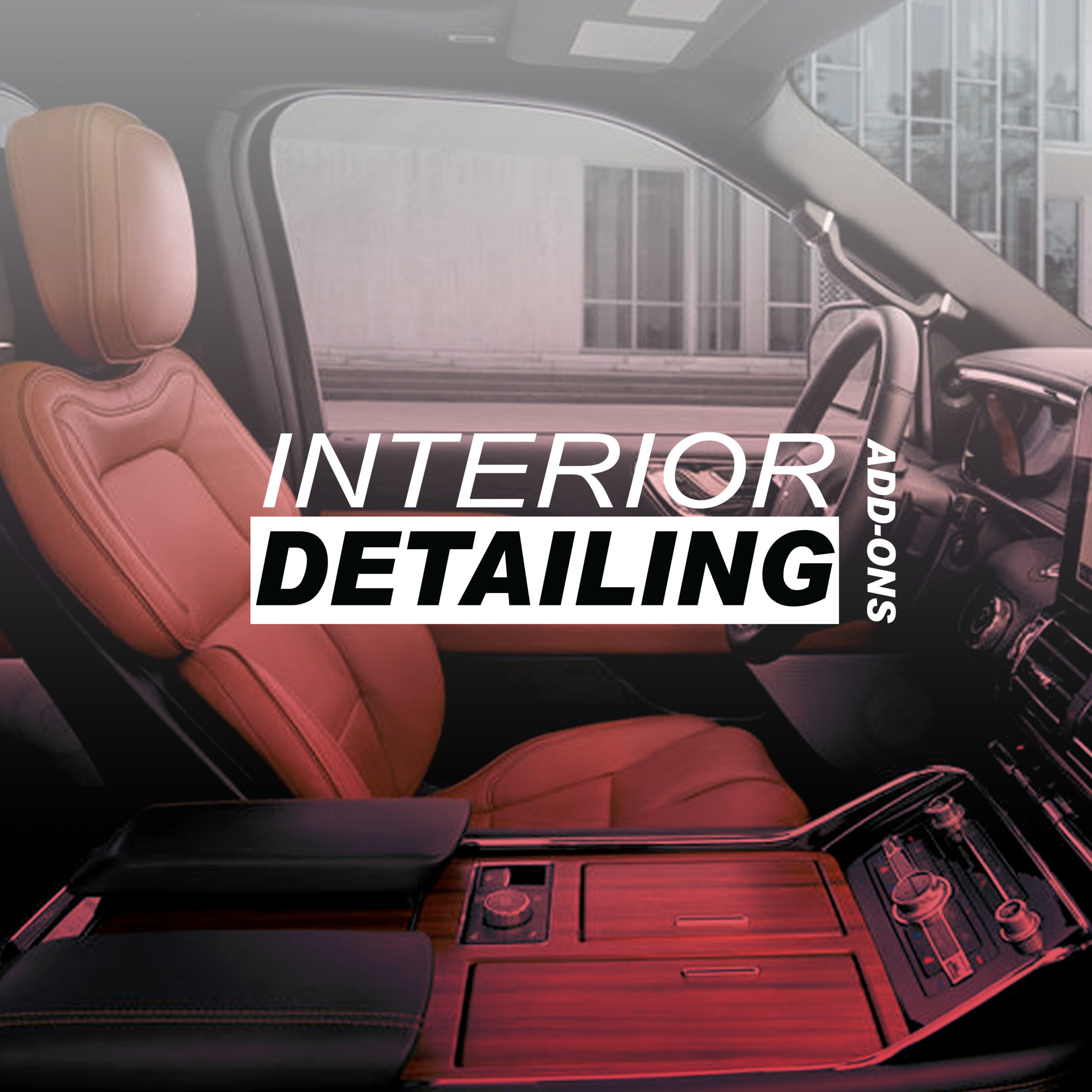 Interior Detailing Add-ons