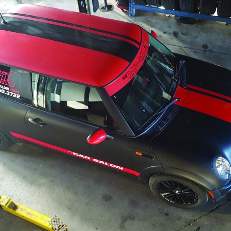 Mini Cooper Wrap Calgary