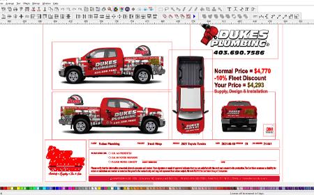 Vehicle Graphic Designer Calgary