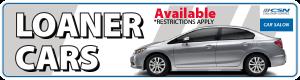 Auto Body Loaner Cars in Calgary