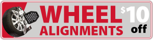Wheel Alignment Coupon Calgary