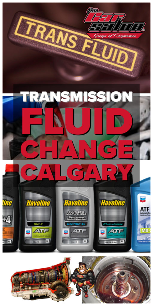 transmission fluid change calgary ne